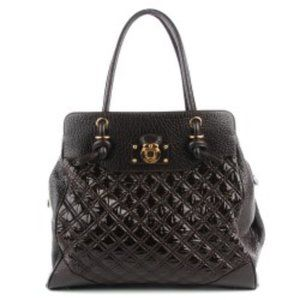 MARC JACOBS Quilted  Swagger Tote